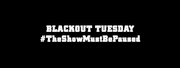 Blackout Tuesday. Музыкальная индустрия США против расизма.